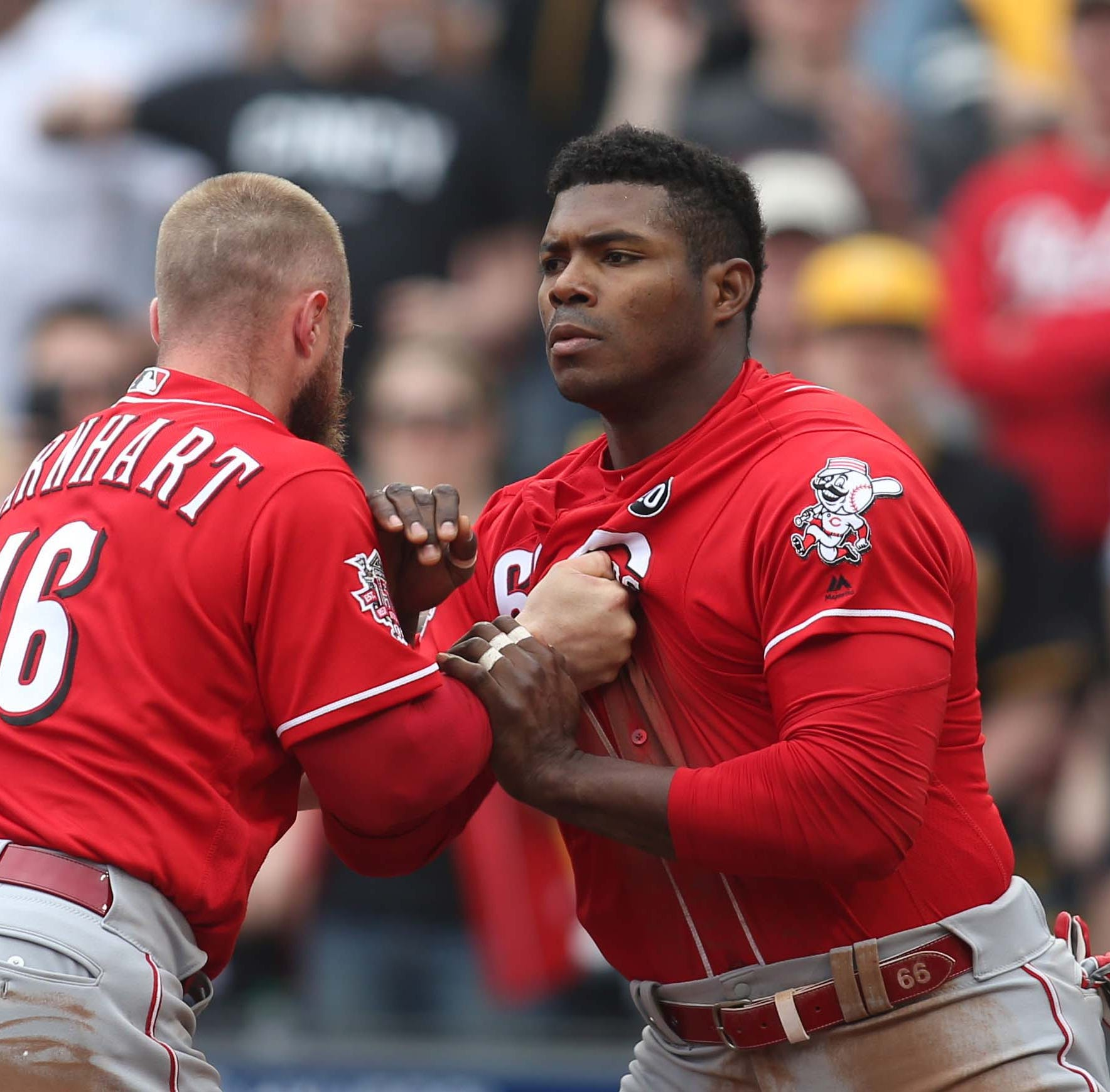 Cincinnati Reds lose 8th straight game in a fiery series finale to Pittsburgh Pirates