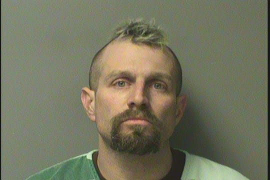 Jared D. Pace, 33, shown in his Polk County Jail mugshot.
