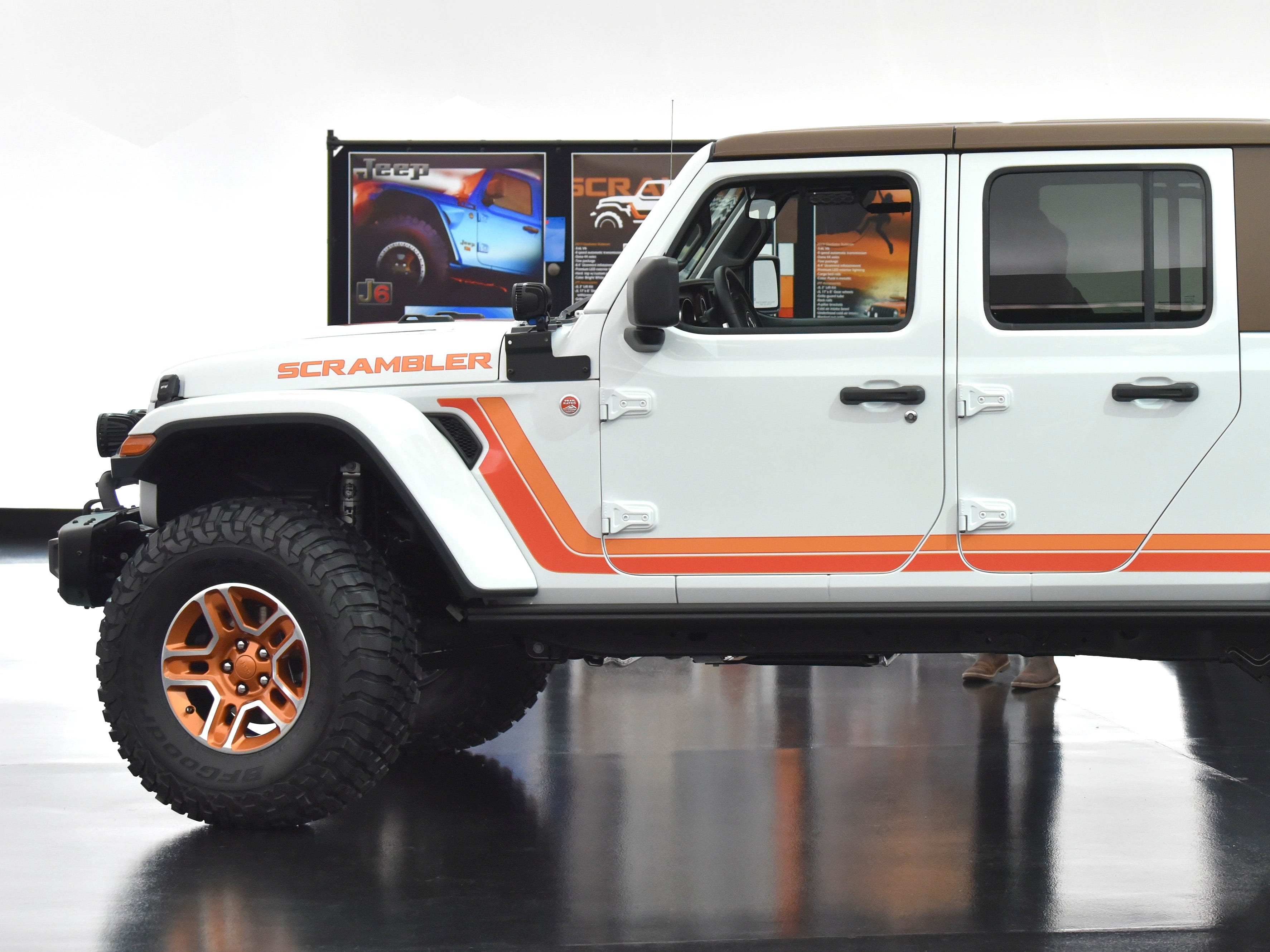 This is the Jeep JT Scrambler.