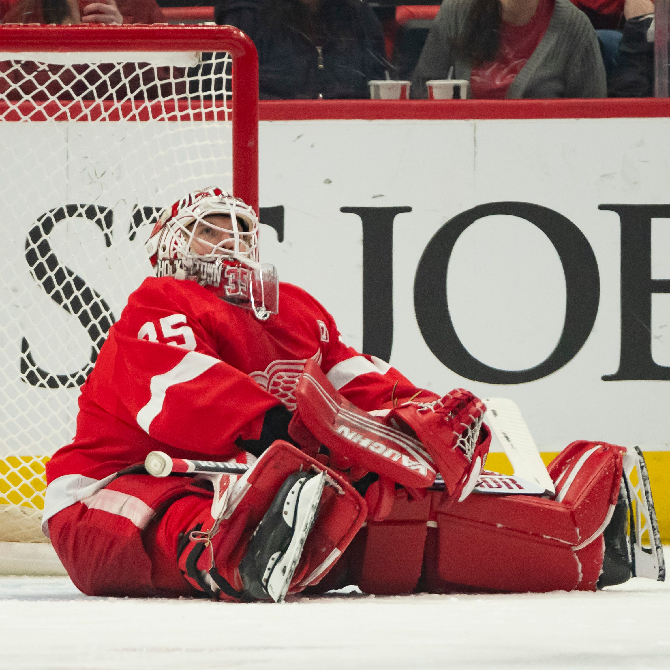 'It stinks': Red Wings end season with a thud, losing 7-1 to Sabres