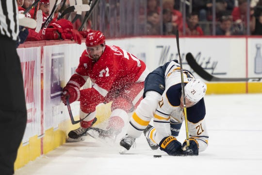 Dylan Larkin is heading to the world championships.
