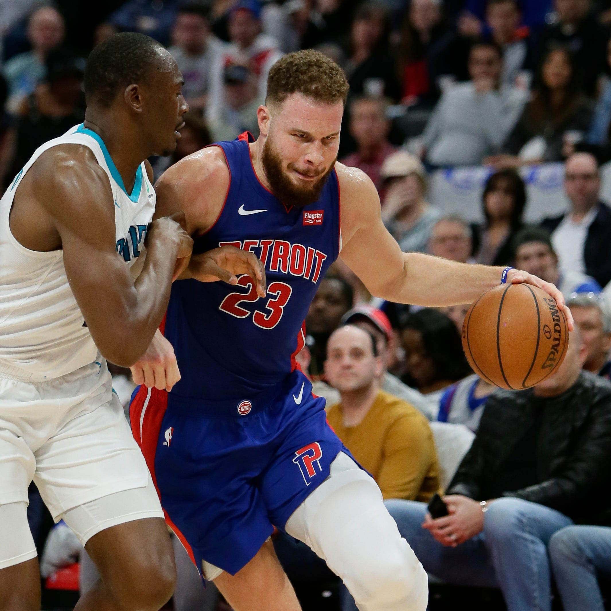 Pistons miss chance to clinch playoff spot, lose to Hornets