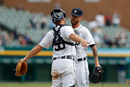 Tigers closer Shane Greene has seven saves in his team's first 10 games.