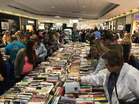 Bookstock visitors have some 300,000 books, vinyl records and DVDs to choose from this year.