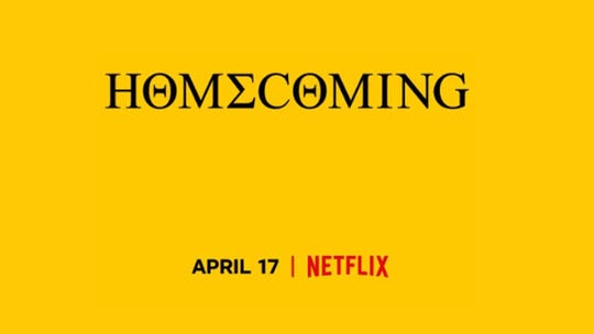 "The streaming giant on Sunday posted on its social media channels a yellow image with the word ""Homecoming"" across it. The only other information was a date: April 17."