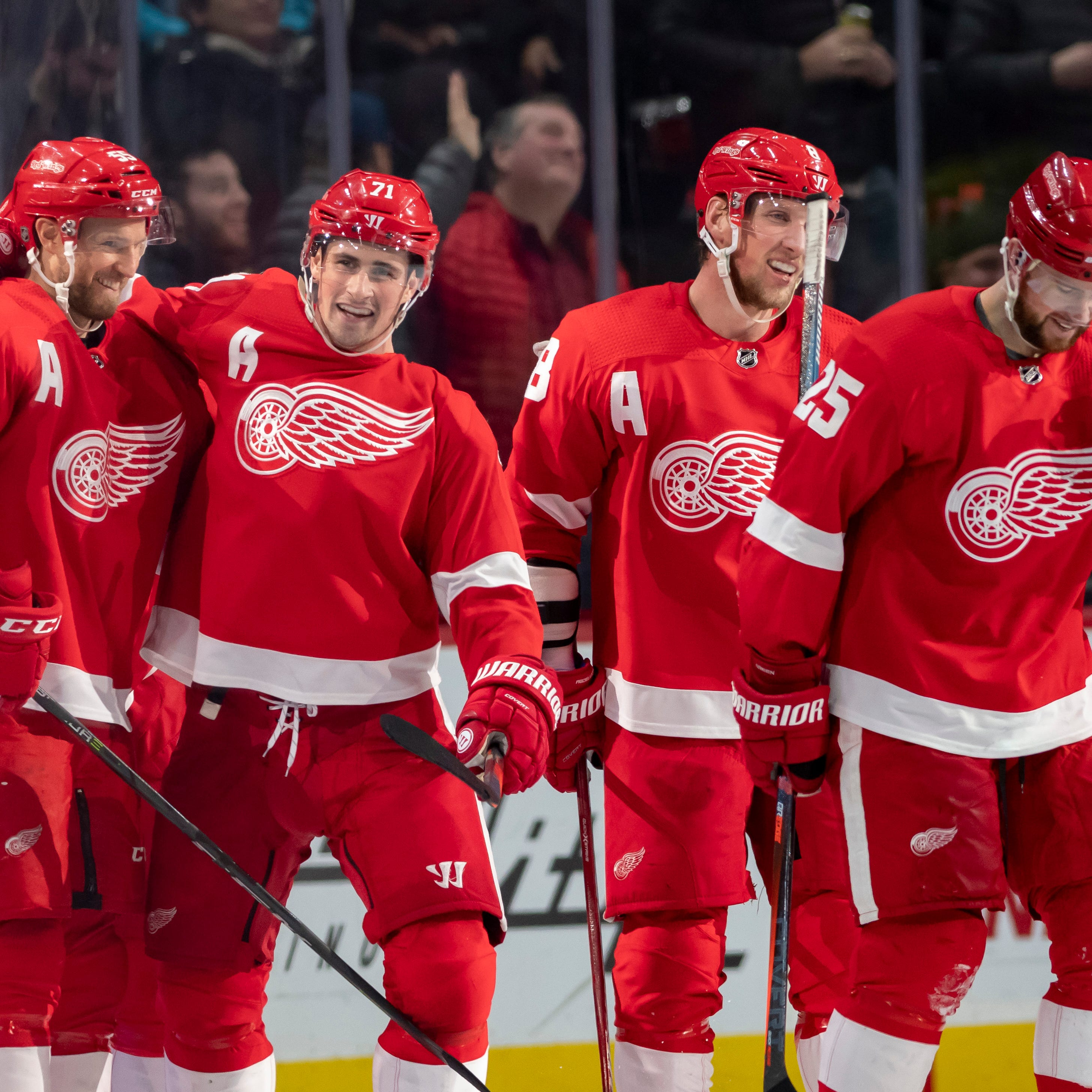 Detroit News' final 2018-19 Red Wings grades