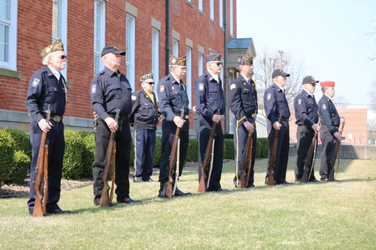 The Fremont VFW Post 2947 honored Vietnam Veterans with a Welcome Home ceremony on Saturday, which included taps and a 21-gun salute.