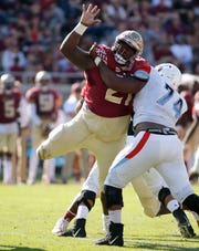 FSU defensive tackle Marvin Wilson accumulated 42 total tackles and 3.5 sacks during the 2018 season.