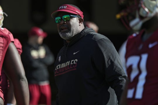 FSU defensive line coach Odell Haggins has formed a pipeline with his players headed to the NFL on a yearly basis.