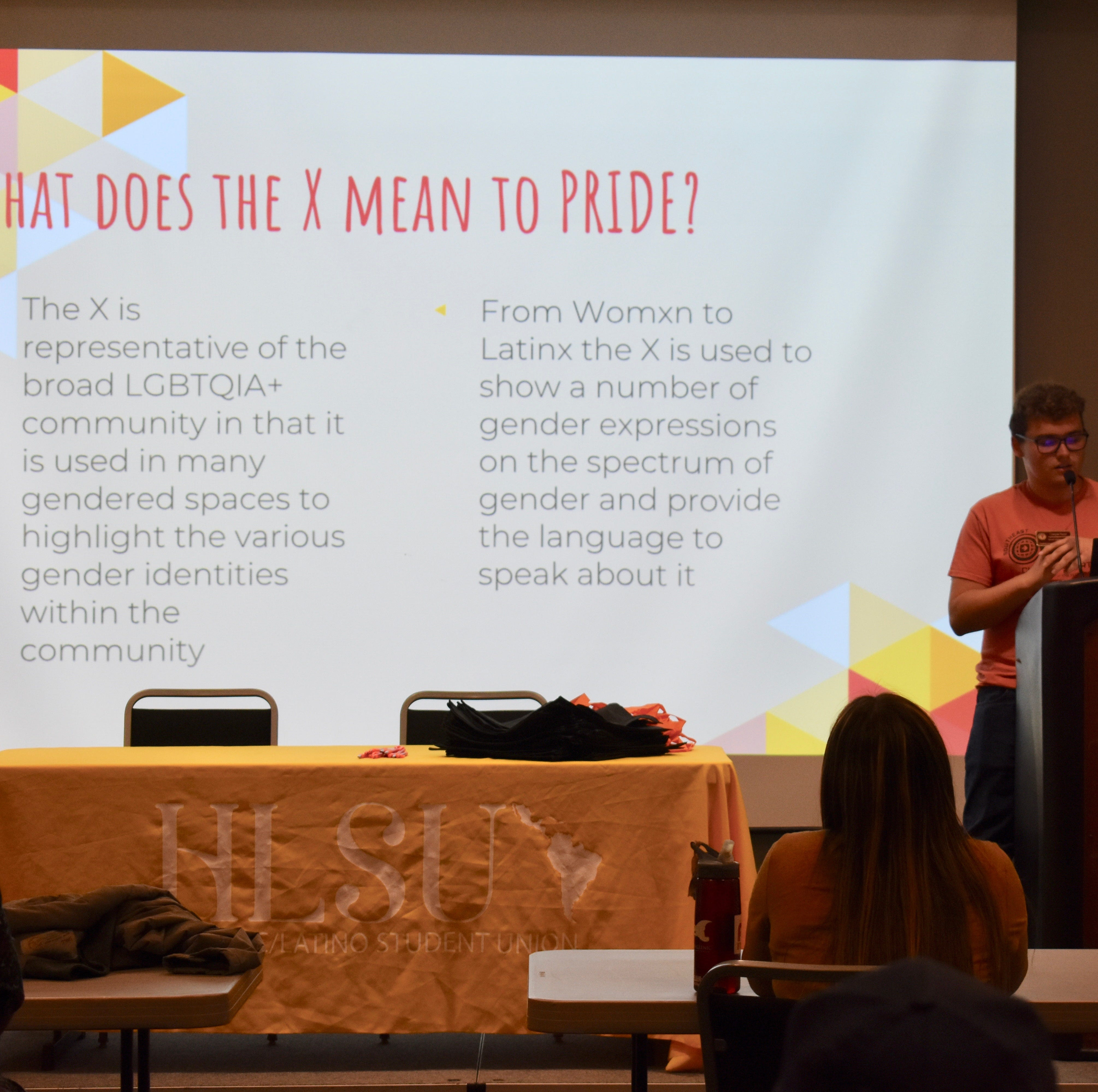 Students explore what the term 'Latinx' means for gender inclusivity