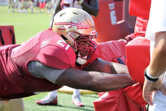 FSU junior defensive tackle Marvin Wilson is looking to lead the way for the Seminoles in 2019.