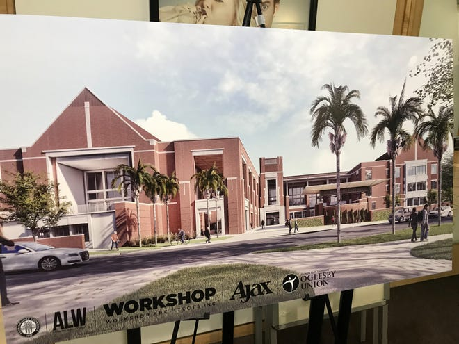 The Oglesby Union faculty and Ajax revealed new details regarding the renovations of the Student Union, such as food options and organization spaces, at a presentation on Monday at the Student Life Cinema.