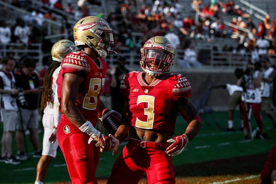 Both sides displayed flashes of brilliance throughout Saturday's Garnet and Gold Spring Game.