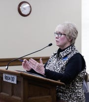 Sen. Margie MacDonald, D-Billings, is carrying Senate Bill 147, which would make penalties harsher for human traffickers and change consent laws.
