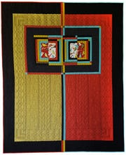 """""""Bird By Bird"""" is a quilt by Deirdre McConathy that will be part of a show in Paducah."""