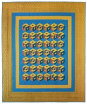 """Quilter's Blocks Cubed"" is a quilt by Deirdre McConathy that will be part of a show in Paducah."