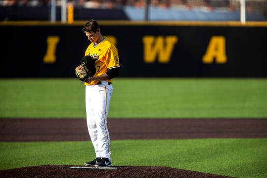 Grant Judkins and the Hawkeyes had a chance to sweep Sunday, but Nebraska swiped the finale at Duane Banks Field.