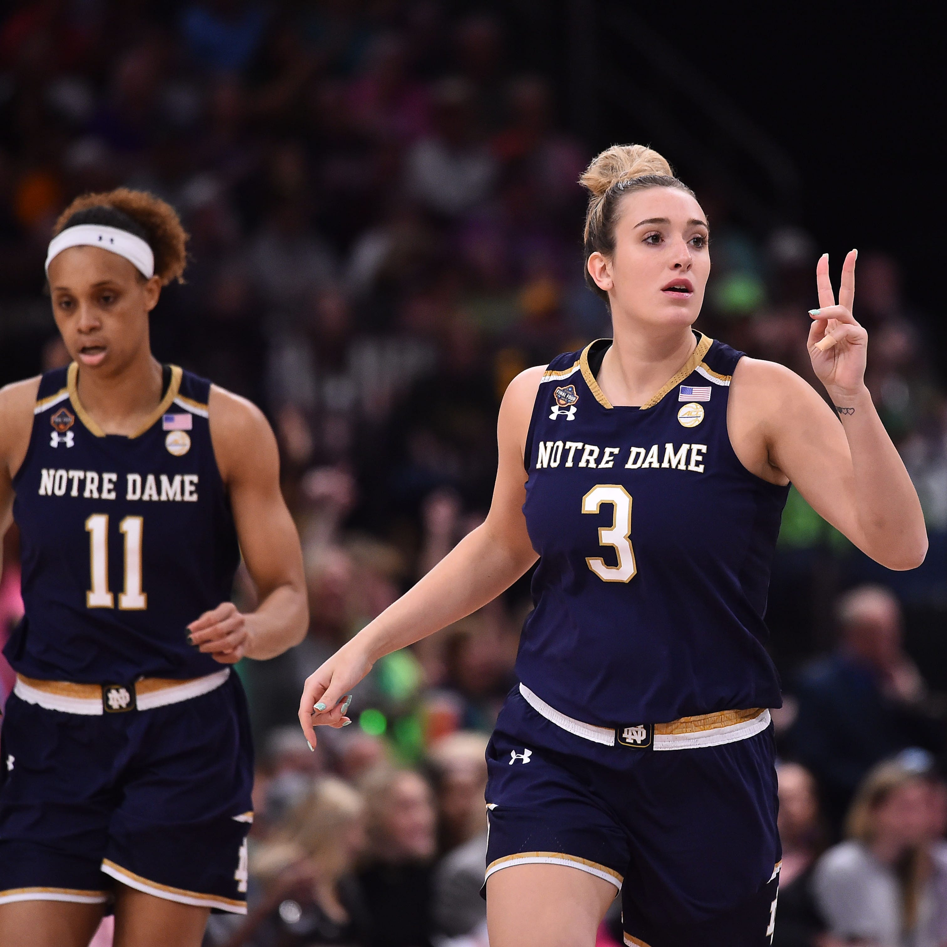 NCAA women's basketball championship: Manasquan's Marina Mabrey cements legacy in Notre Dame loss