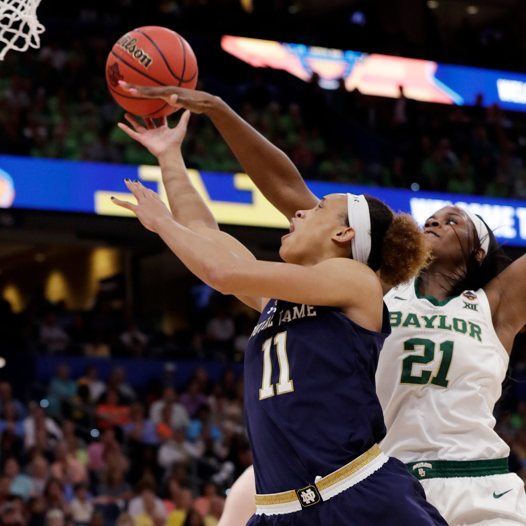 2019 Women's Final Four: Late miss causes Notre Dame rally to fall short in title game loss to Baylor
