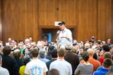 Hear remarks Beto O'Rourke had at a town hall at the University of Iowa on college loans and a plan for free community college, April 7, 2019.