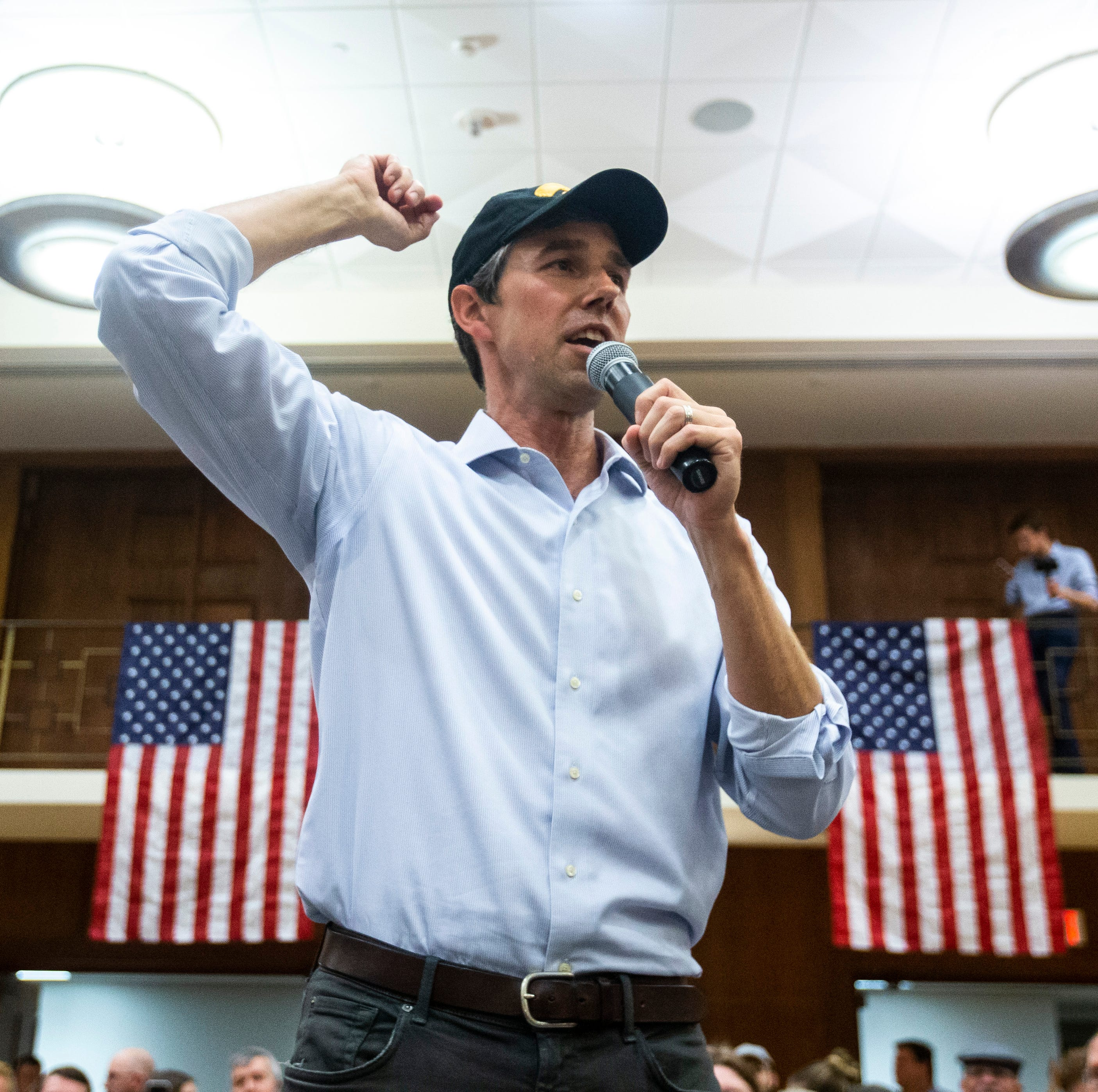 Beto O'Rourke expresses frustration at 'lack of substance' critique in Iowa City