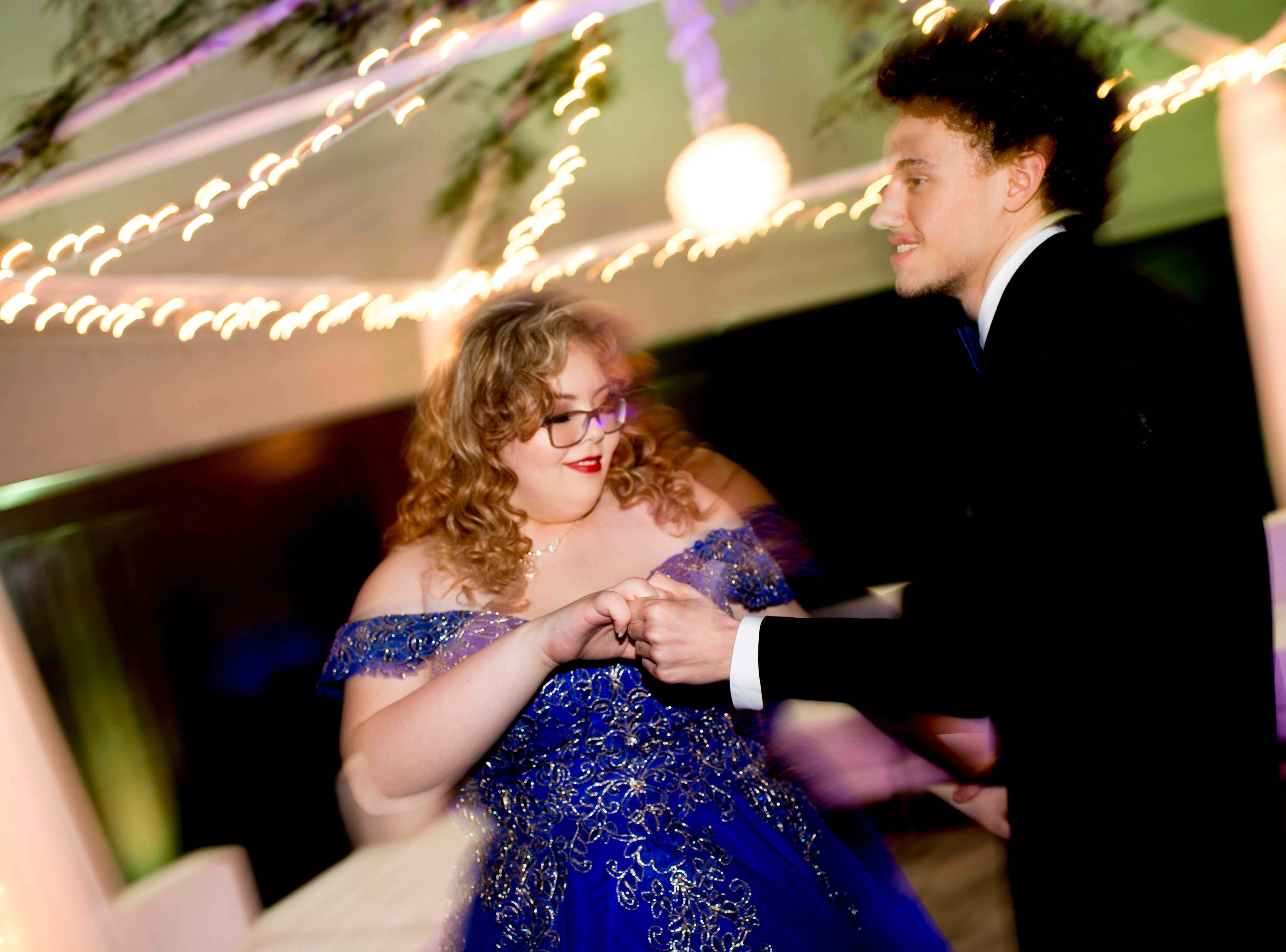 Scenes from the Hardin Valley Academy prom at The Venue in Lenoir City, Tennessee on Saturday, April 6, 2019.