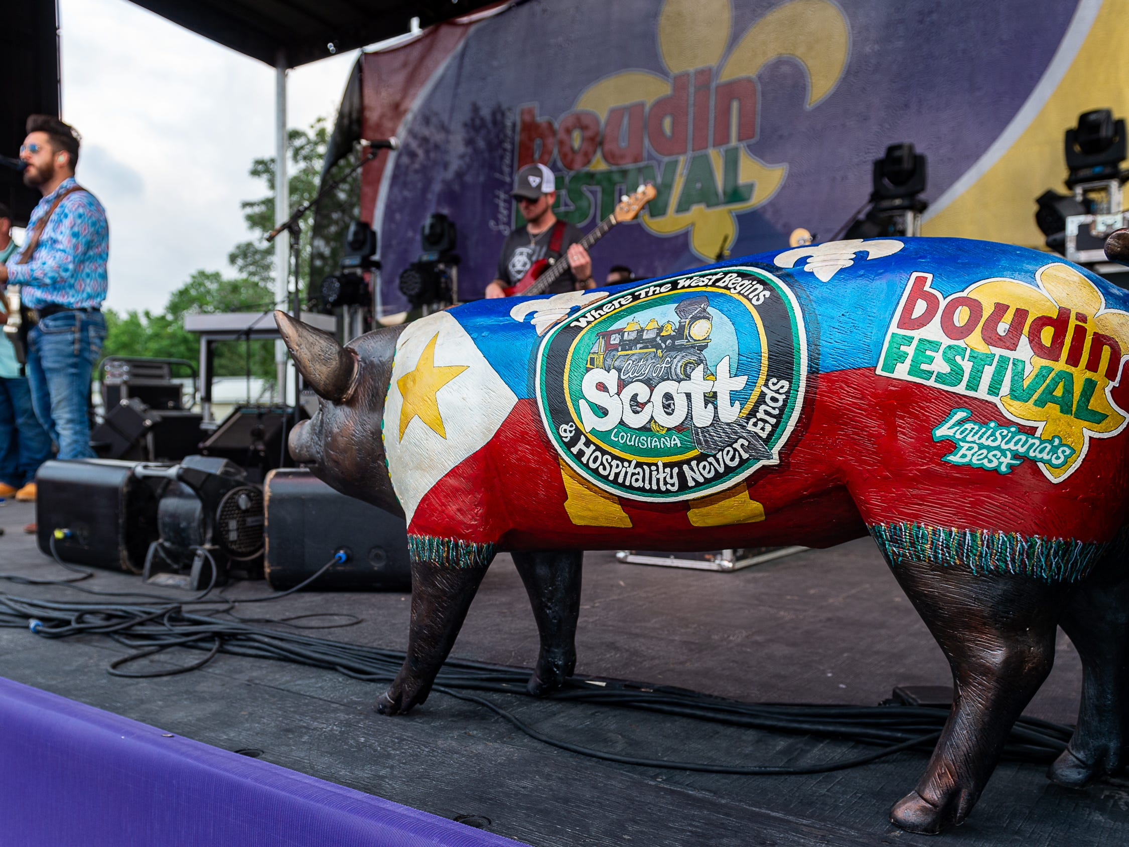 Scott Boudin Festival. Saturday, April 6, 2019.