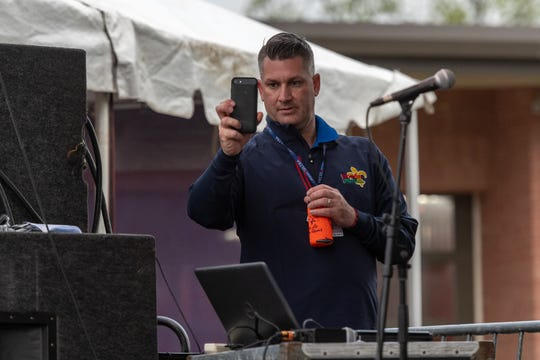 Mayor Jan-Scott Richard at The Scott Boudin Festival. Saturday, April 6, 2019.