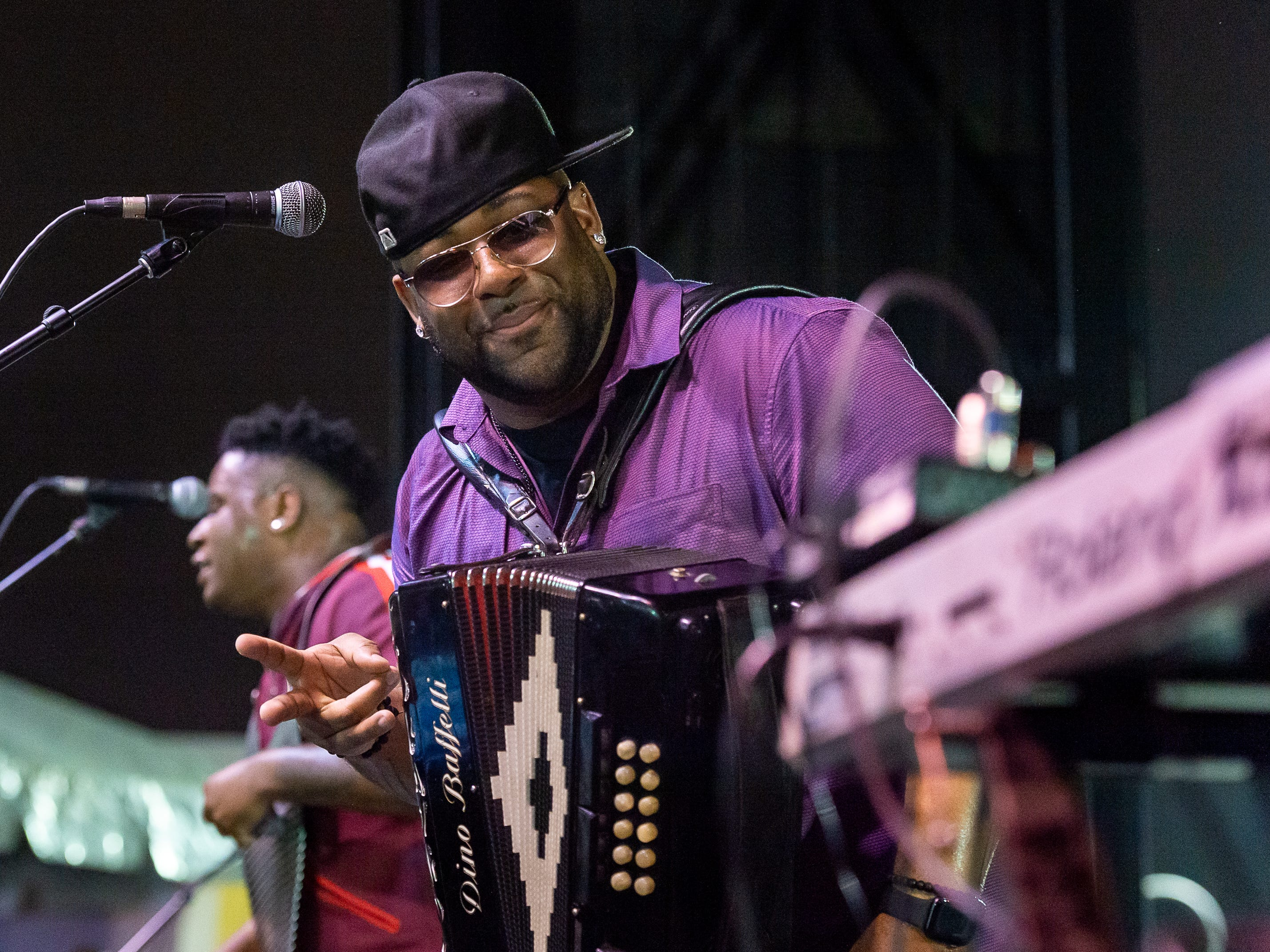 Chris Ardoin performs at the Scott Boudin Festival. Saturday, April 6, 2019.