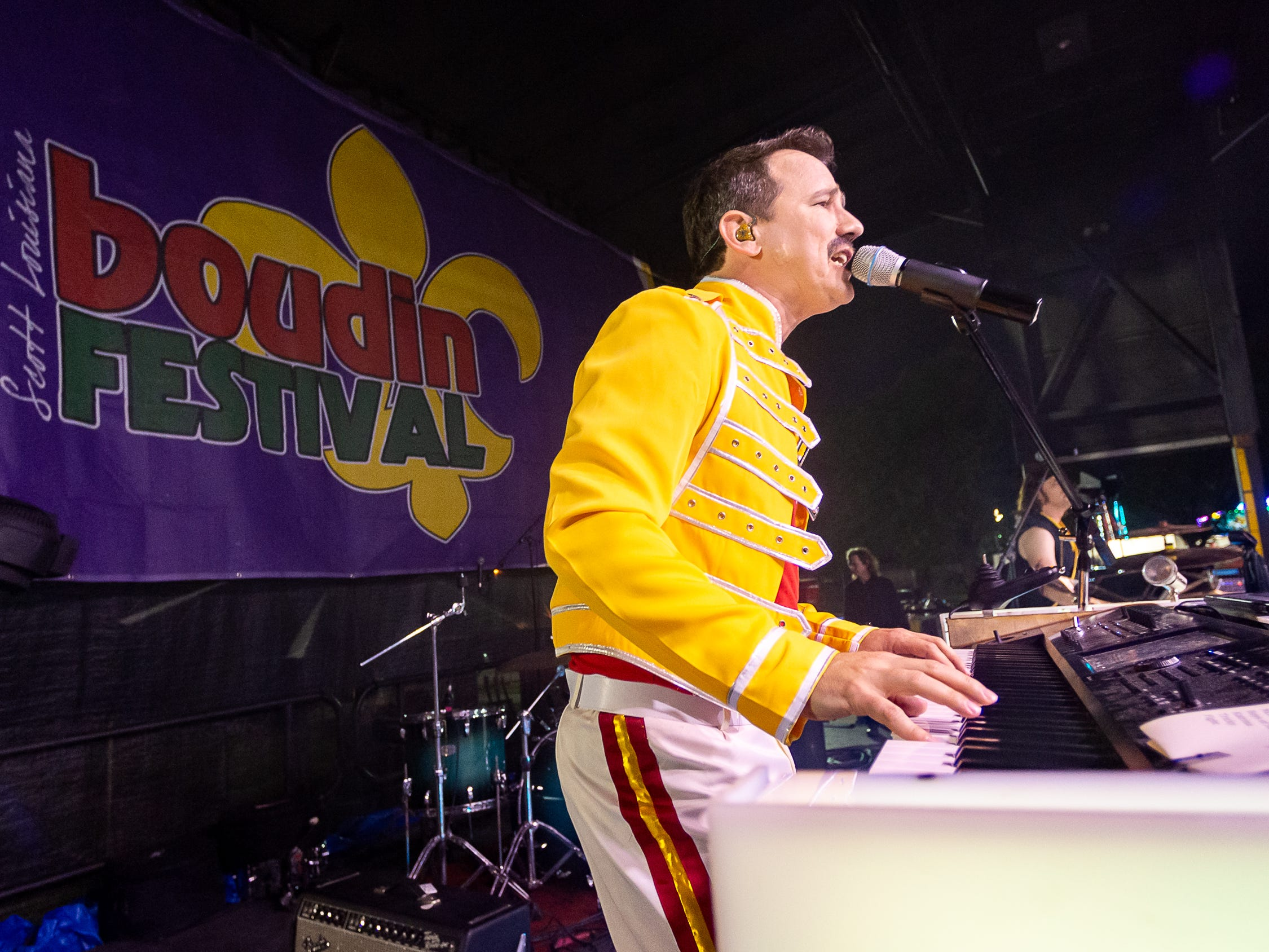 The Molly Ringwalds perform at the Scott Boudin Festival. Saturday, April 6, 2019.