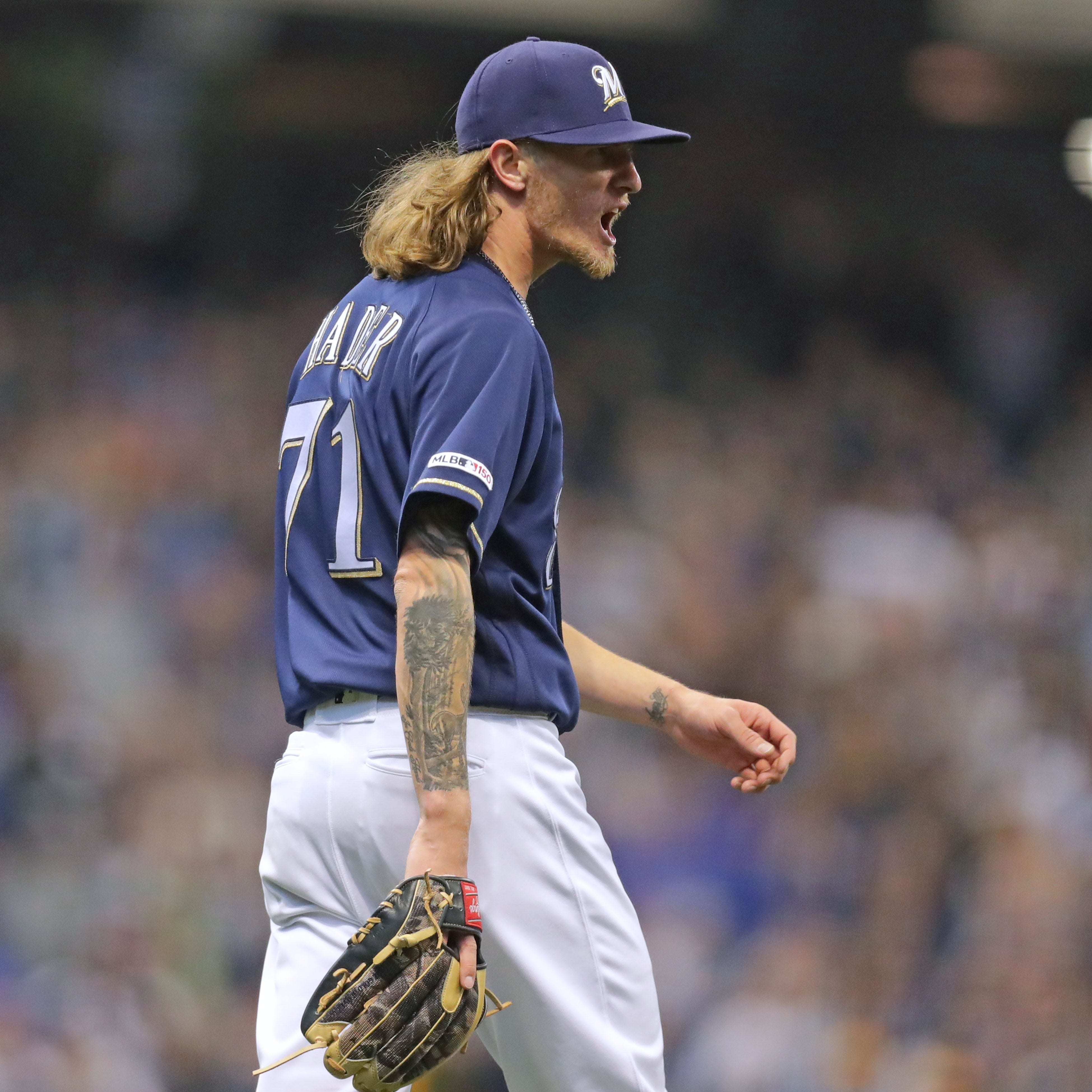 Josh Hader is the ultimate bullpen weapon, but the Brewers have to pick their spots