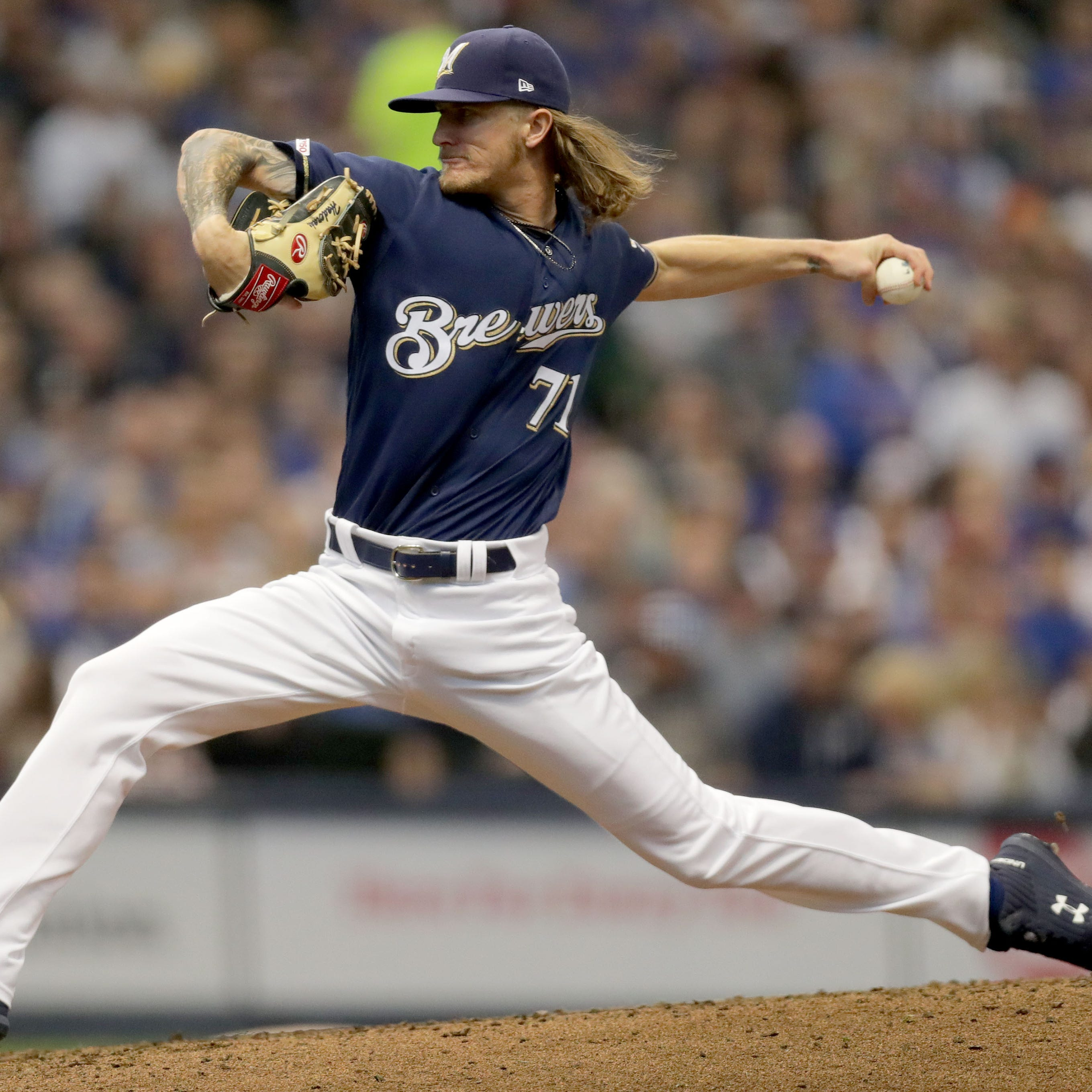 Brewers 4, Cubs 2: Josh Hader finished what Christian Yelich and Zach Davies started