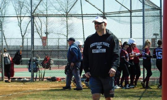 Todd Callaghan has been the head softball coach at Whippany Park since 2007.