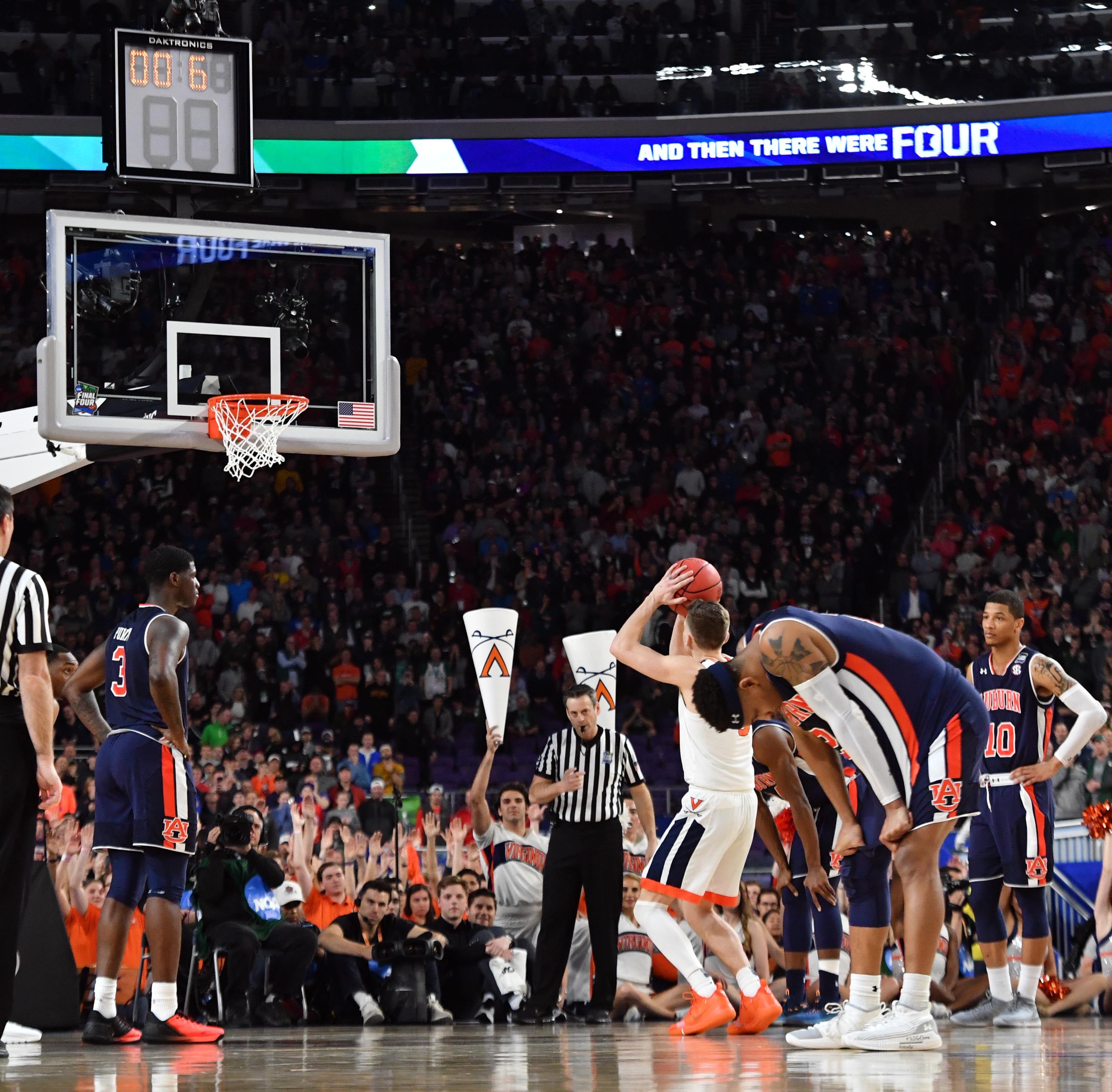 Heartbreak: Auburn's dream season ends with late foul call against Virginia in Final Four