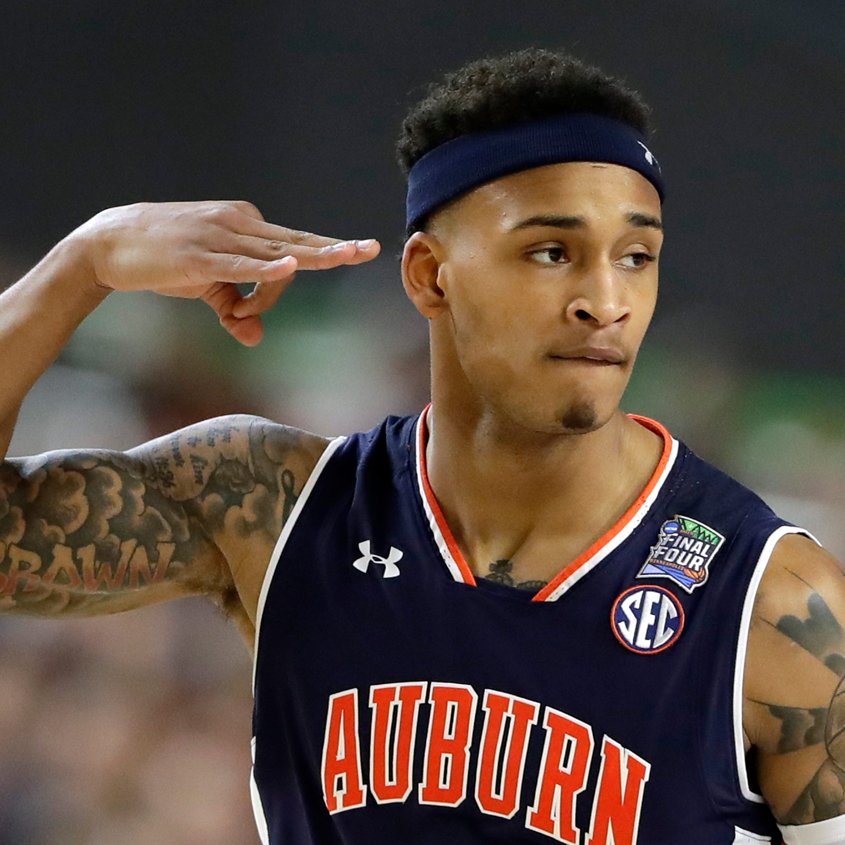 Bryce Brown's career will go down as one of the best in Auburn men's basketball history