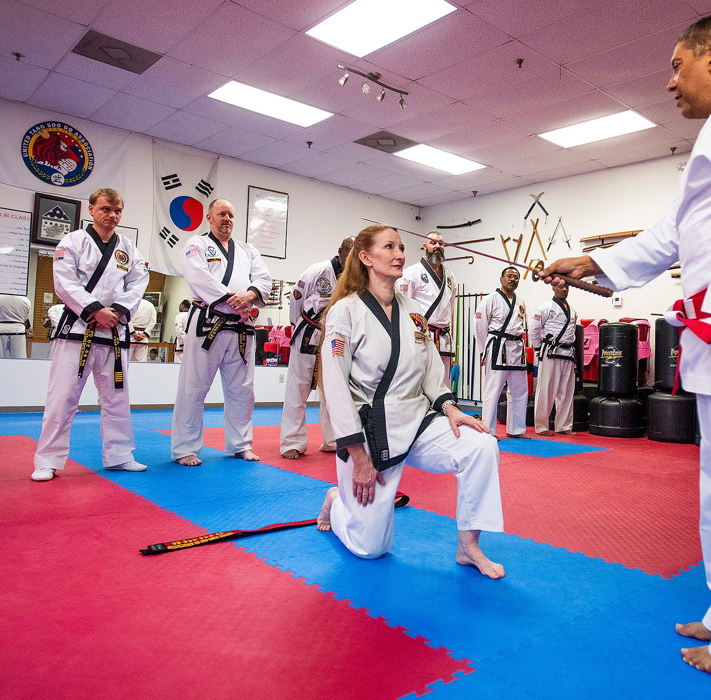 She's a master: Montgomery woman earns 8th degree black belt
