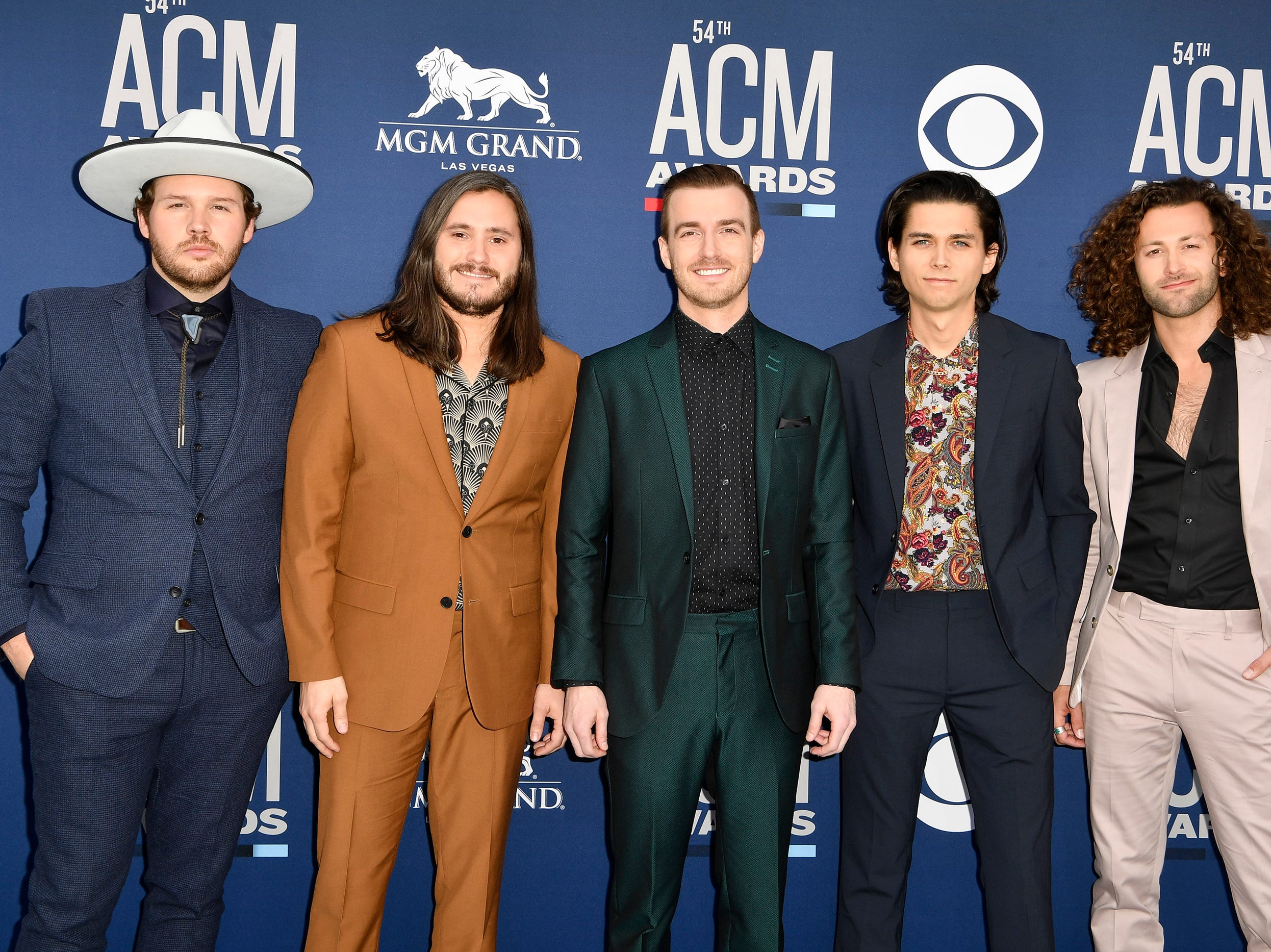 Lanco walks the red carpet at the 54TH Academy of Country Music Awards Sunday, April 7, 2019, in Las Vegas, Nev.