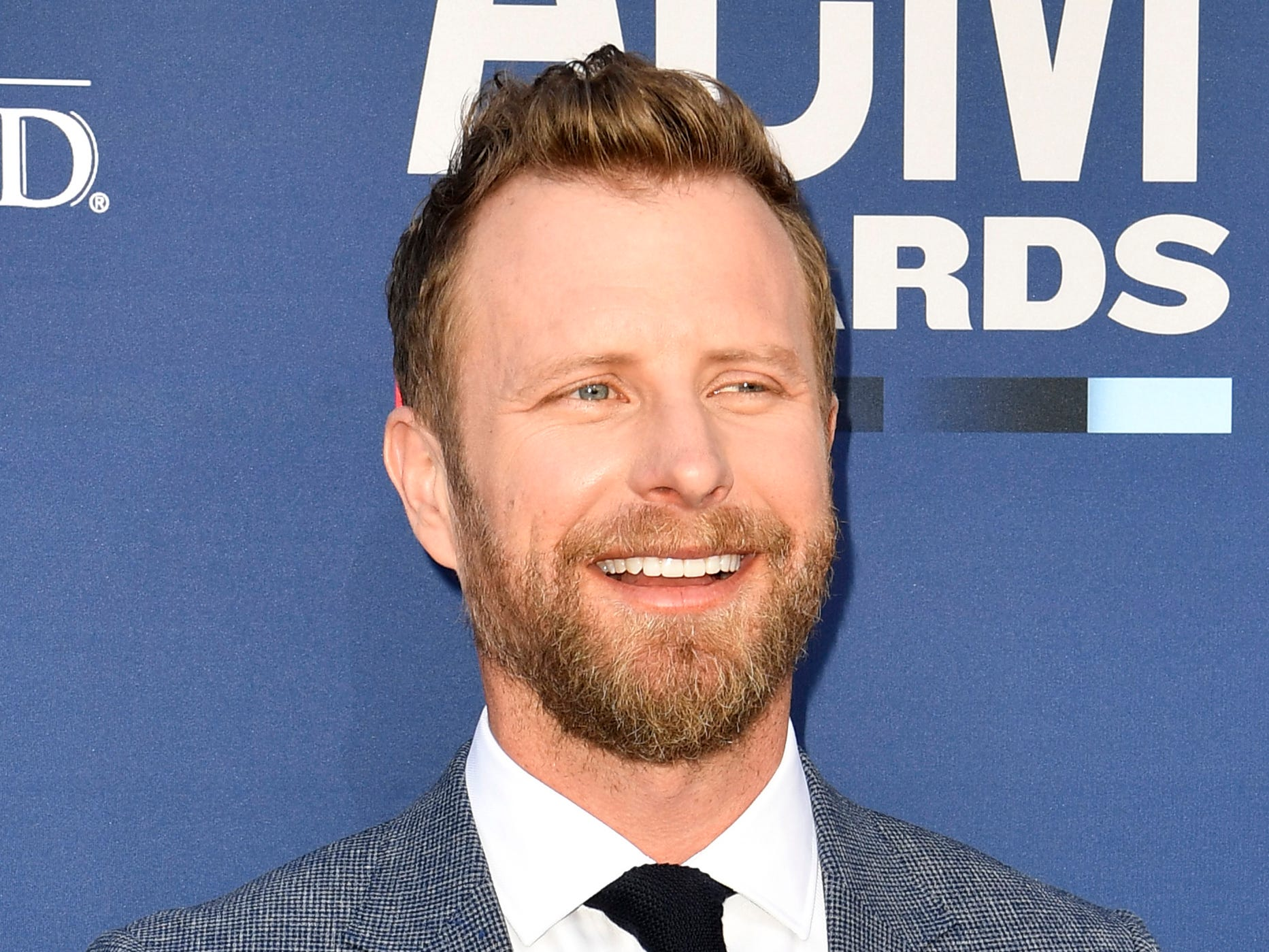 Dierks Bentley walks the red carpet at the 54TH Academy of Country Music Awards Sunday, April 7, 2019, in Las Vegas, Nev.