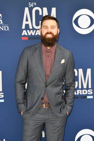 Jordan Davis walks the red carpet at the 54TH Academy of Country Music Awards Sunday, April 7, 2019, in Las Vegas, Nev.