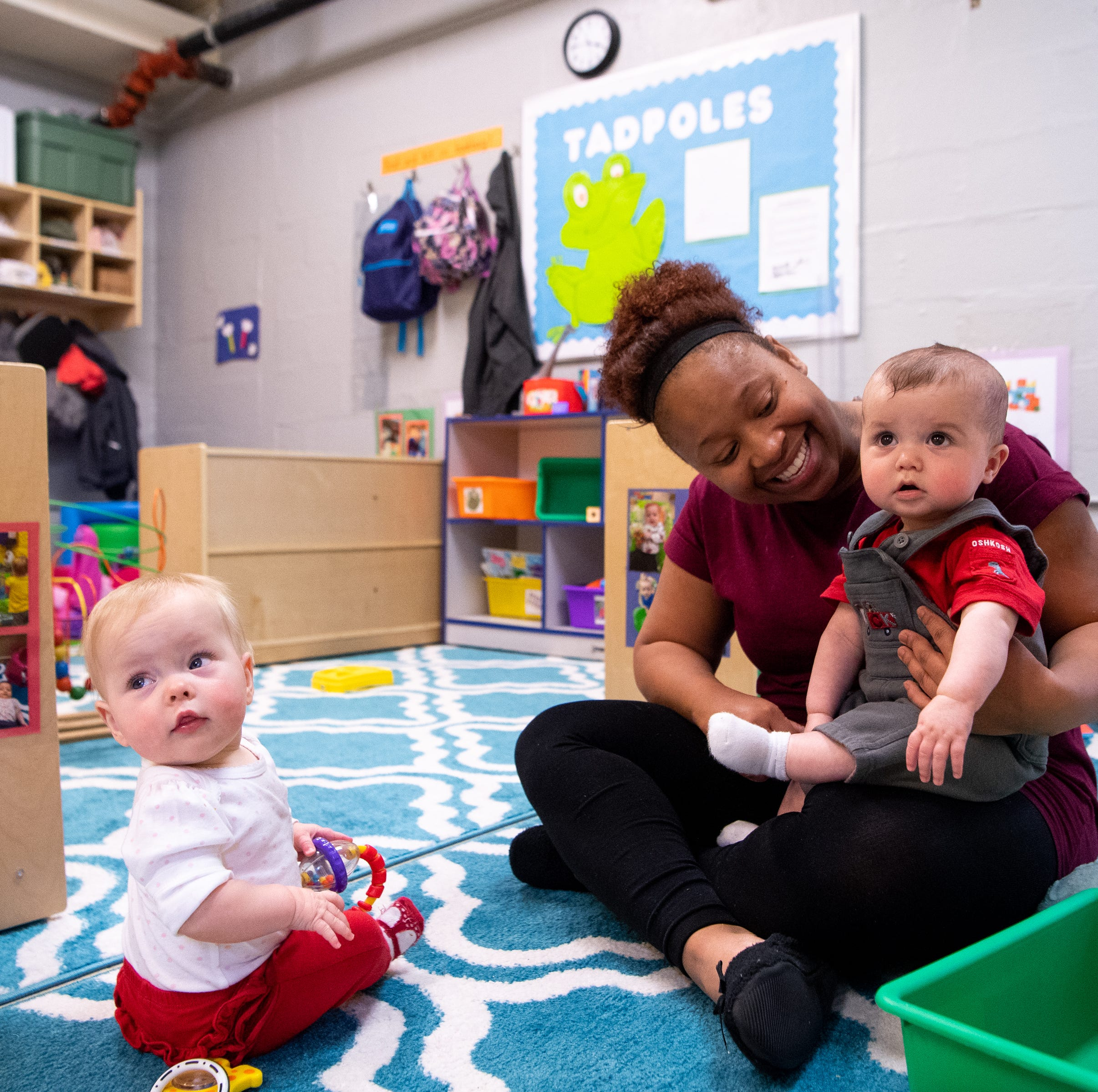 For some teachers, the breaking point isn't salary or support. It's child care.