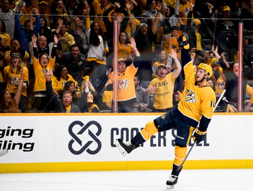 Predators: Cody McLeod relishes role as enforcer