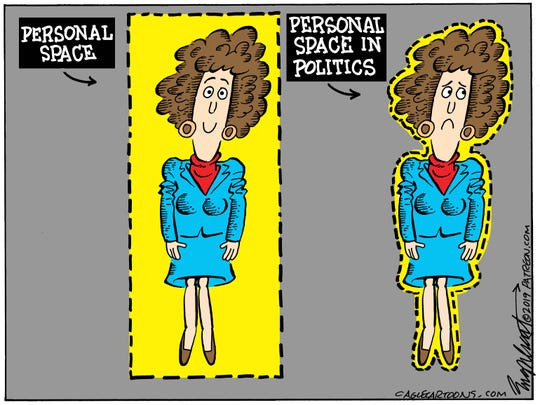 Personal space in politics
