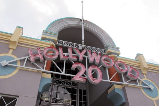 A view of Hollywood 20 movie theater in North Naples as it looked in early 2018 before recent exterior changes were made.
