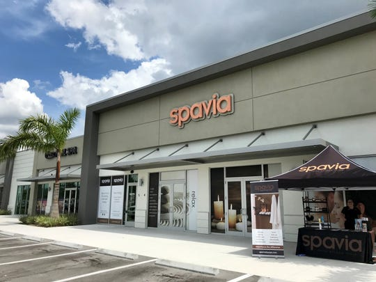 Spavia Day Spa of Naples is opening April 10, 2019, next to Newk's Eatery in the Sutton Place retail strip at Naples Boulevard and Hollywood Drive in North Naples.