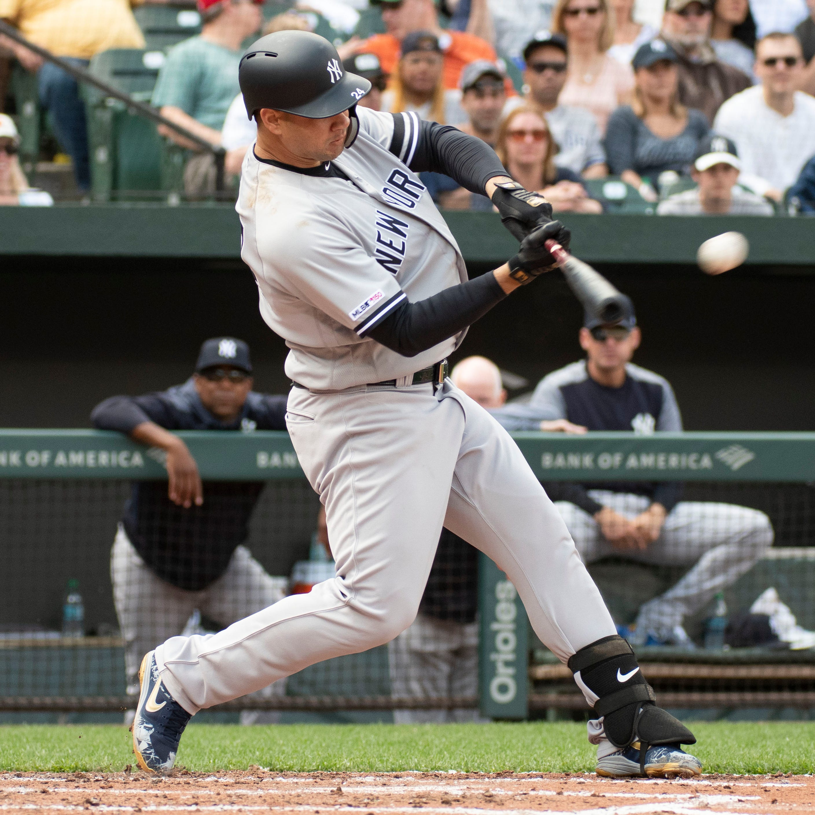 Gary Sanchez slugs three home runs, powering the Yankees to a three-game sweep at Baltimore