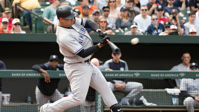 35720b325c8804 Gary Sanchez slugs three homers as Yankees sweep Orioles