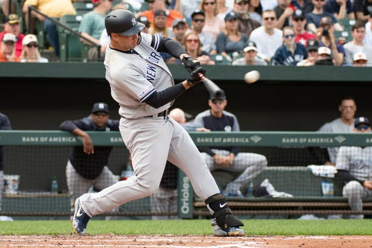 New York Yankees catcher Gary Sanchez is closing in on his return.