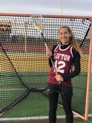 Giuliana Richards became Clifton's all-time leading goal scorer with the 151st of her career last week.