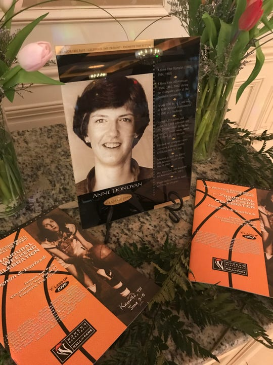 The second annual Paramus Catholic Legacy Gala the late Anne Donovan, a 1979 graduate who has been inducted into the Women's Basketball Hall of Fame. April 6, 2019.