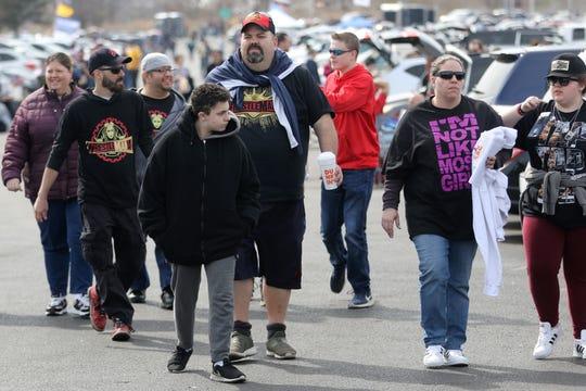 Thousands came to MetLife Stadium for WrestleMania. Sunday, April, 7, 2019